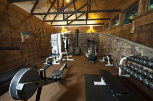 Greenhouse exercise room