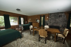 Main Lodge room with table