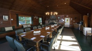 Boathouse conference room